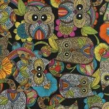 Robert Kaufman Owl's Nest AVO-14160-195 Bright