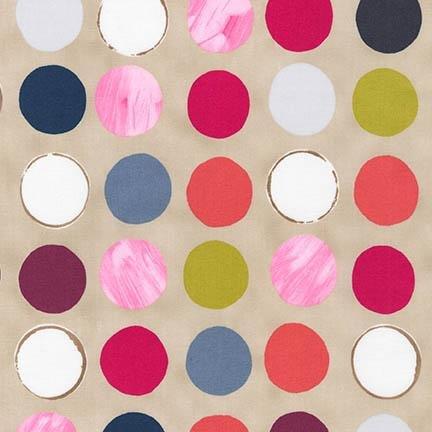 Robert Kaufman Color: FULL Multi Dots