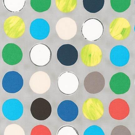 Robert Kaufman Color: FULL Multi Green