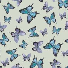 Shell Rummel by Blend Mariposa Dance of the Butterfly - Purple, Blue