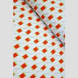 Robert Kaufman - Cut and Sew - Retro Thread