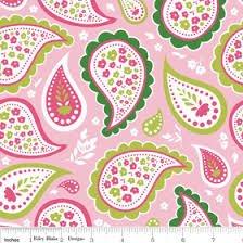 Riley Blake Primrose Garden -Pink Paisley