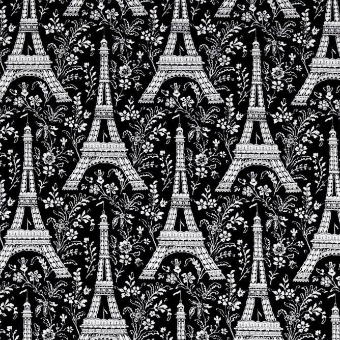 Michael Miller Eiffel Tower - Ebony