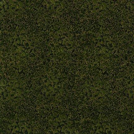 Robert Kaufman Fusions 11 Metallic - Olive - EYJM-6644-49