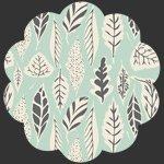Art Gallery Fabrics - Hello Bear: leaflet eucalyptus