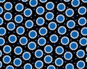 Free Spirit - Jane Sassaman - Wild Child - Delicious Dots: Blue