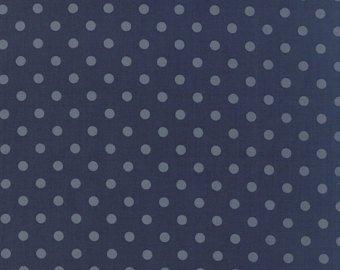 Moda - Laundry Basket Quilts - Snowbird Polka Dots
