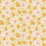 Art Gallery Fabrics - Sweet As Honey - 1603 Bed of Daisies Garden