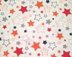 Riley Blake - Boy Stars - Blue, Orange, Red, White