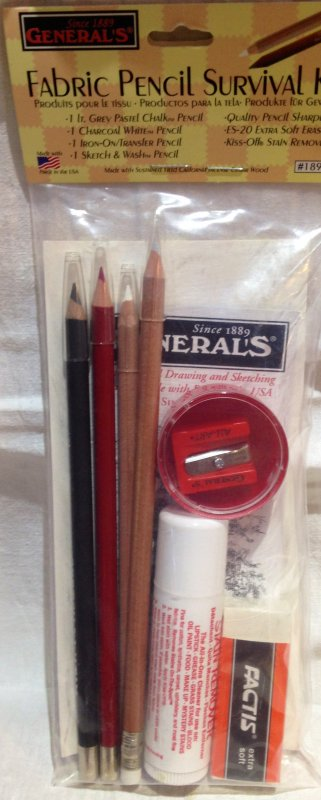 Fabric Pencil Survival Kit