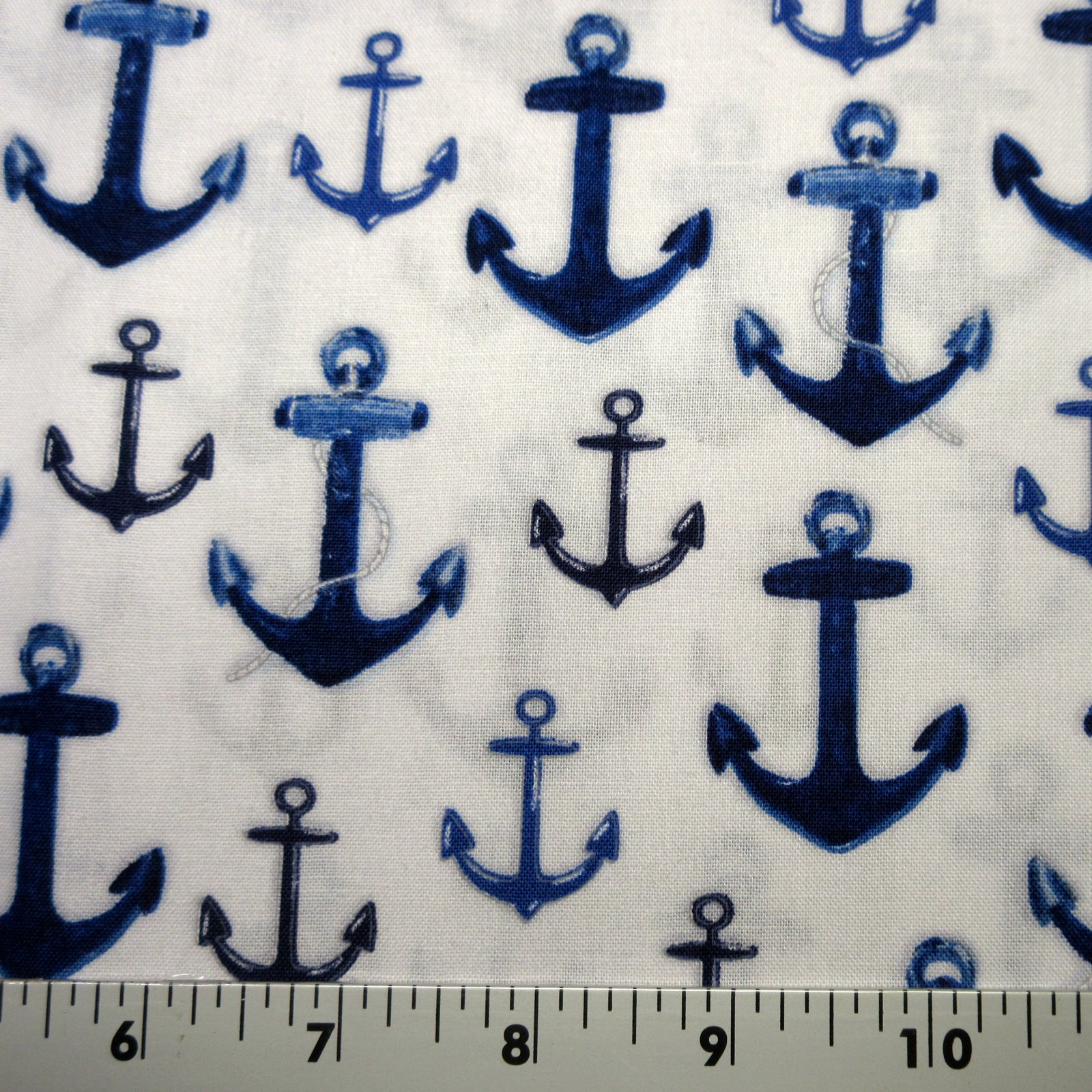 Robert Kaufman Down By The Sea - AMK-16031-9 Navy