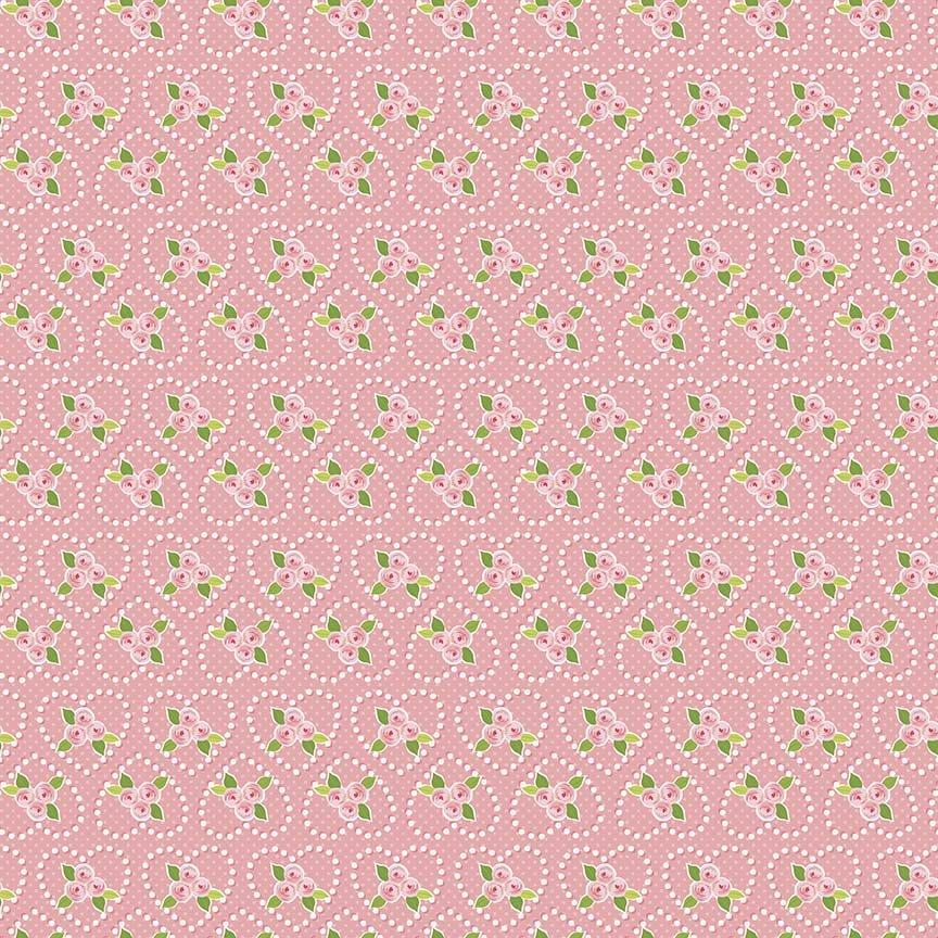 Riley Blake Kewpie Love - C5823 Pink
