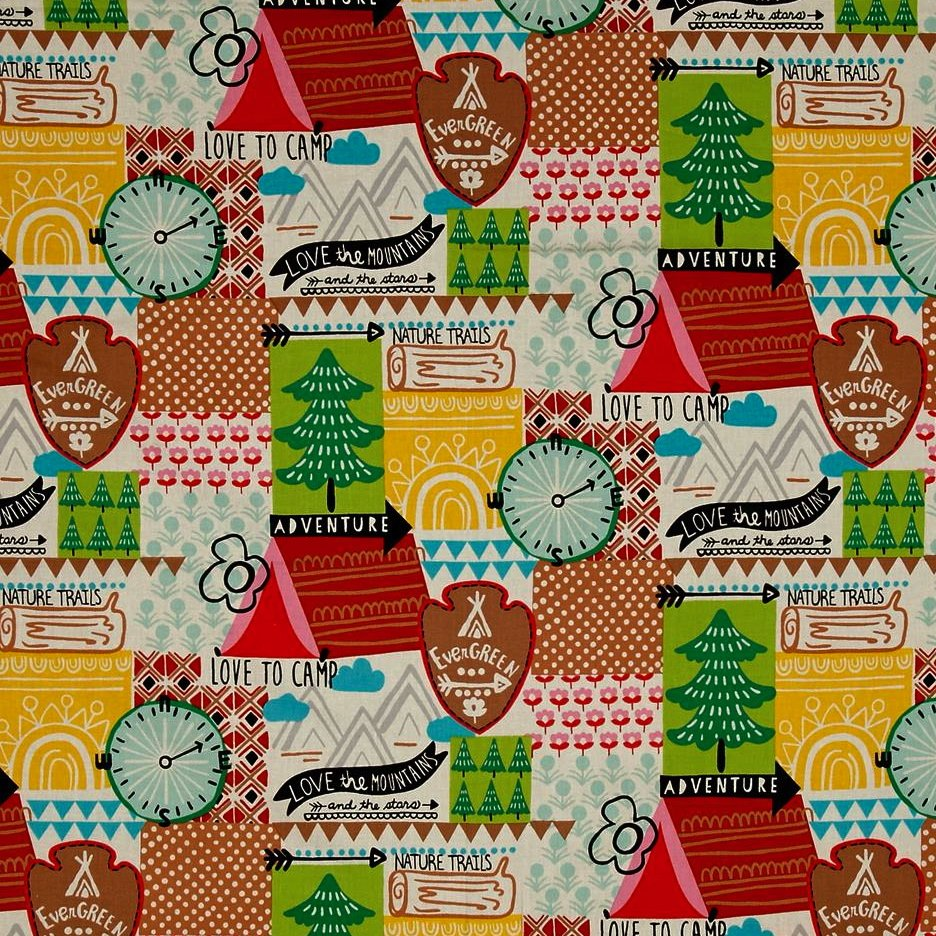 Alexander Henry Fabrics - Love to Camp