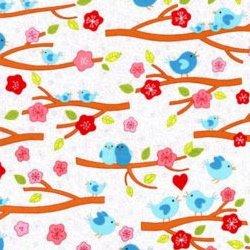 RJR Fabrics Lovebirds 2262