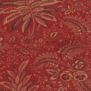 Moda Collections Circa 1852 - Madder Red Flourish