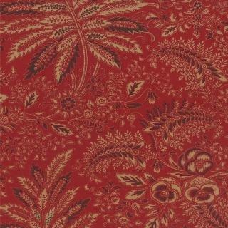 Moda Collections Circa 1852 - Madder Red Flourish