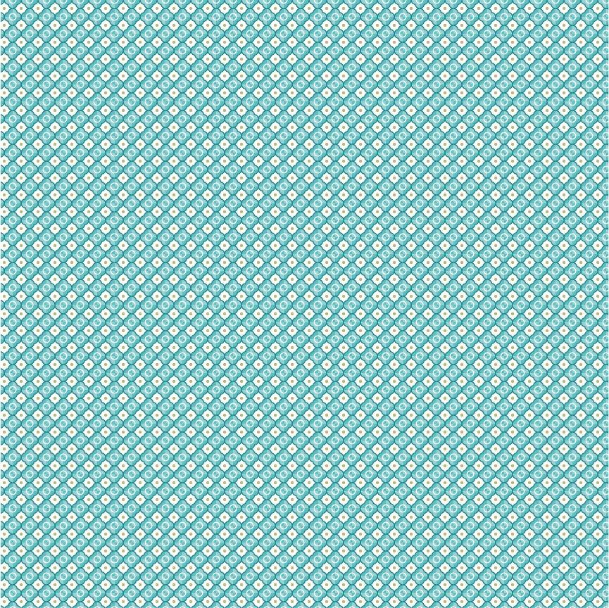 Poppie Cotton Kaisley Rose Oakley Blue
