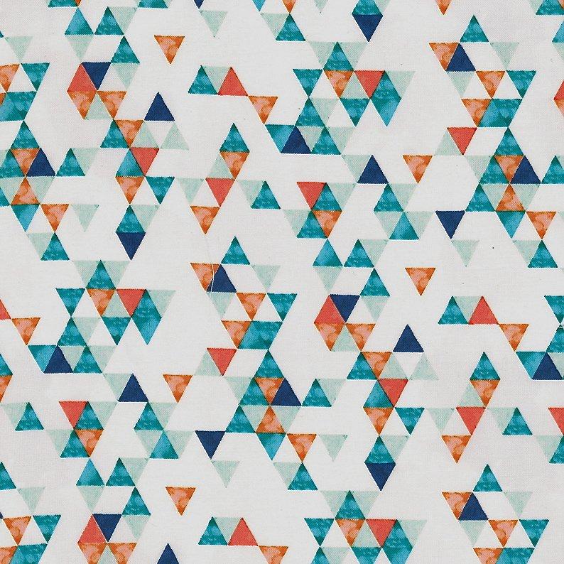 Hoffman Fabrics Summer Punch - P4342 457-Oasis