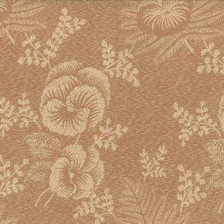 Moda Plum Sweet - Floral Pansy Tan
