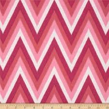 Moda Color Me Happy - Pink Ikat Chevron