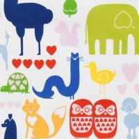 Alexander Henry - Love, Luck & Liberty: I Heart Animals