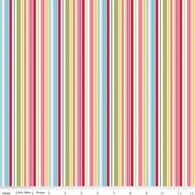 Riley Blake - Fine & Dandy Multi Stripes