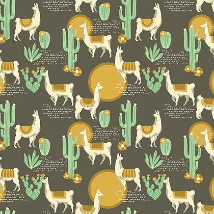 Free Spirit Fabrics - Florabell by Joel Dewberry - Lingering Llamas - Tucson - PWJD146.TUCSO