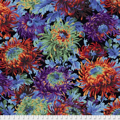 Kaffe Fassett for Free Spirit Fabrics - Fall 2017 - Shaggy - Black - PWPJ072.BLACK