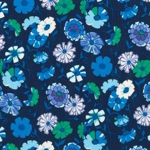 Robert Kaufman London Calling 4 - Navy Floral