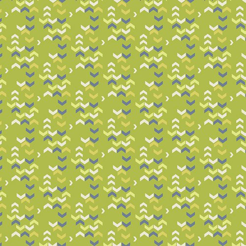 Art Gallery Fabrics - Safari Moon - River Shadows Chartreuse