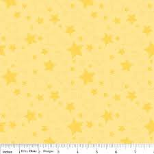 Riley Blake Stars - Yellow