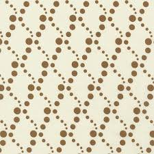 RJR - Doodle Zoo - Brown Lattice Dots on Cream