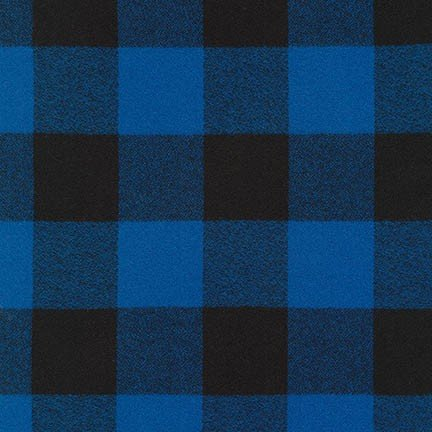 Robert Kaufman Mammoth Flannel - Blue - SRKF-16943-4