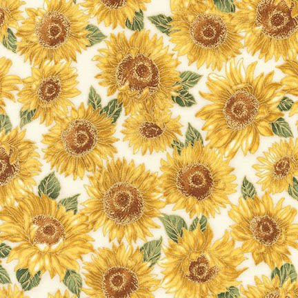Robert Kaufman Shades of the Season 10 - SRKM-16747-125 Sunflower