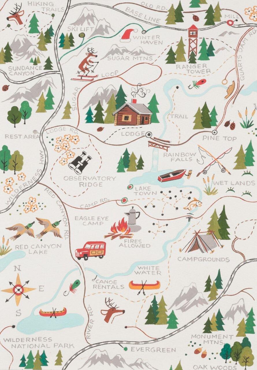 Alexander Henry - Sugar Mountain Trail - 8523A
