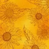 Robert Kaufman - Sunny Day - Yellow Sunflowers