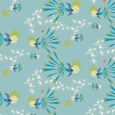 Art Gallery Fabrics - Safari Moon - Soaring Free Clear