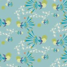 Art Gallery Fabrics - Safari Moon - Soaring Free Clear