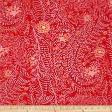 Rowan - Kaffe Fassett - Fall 2014 red fern