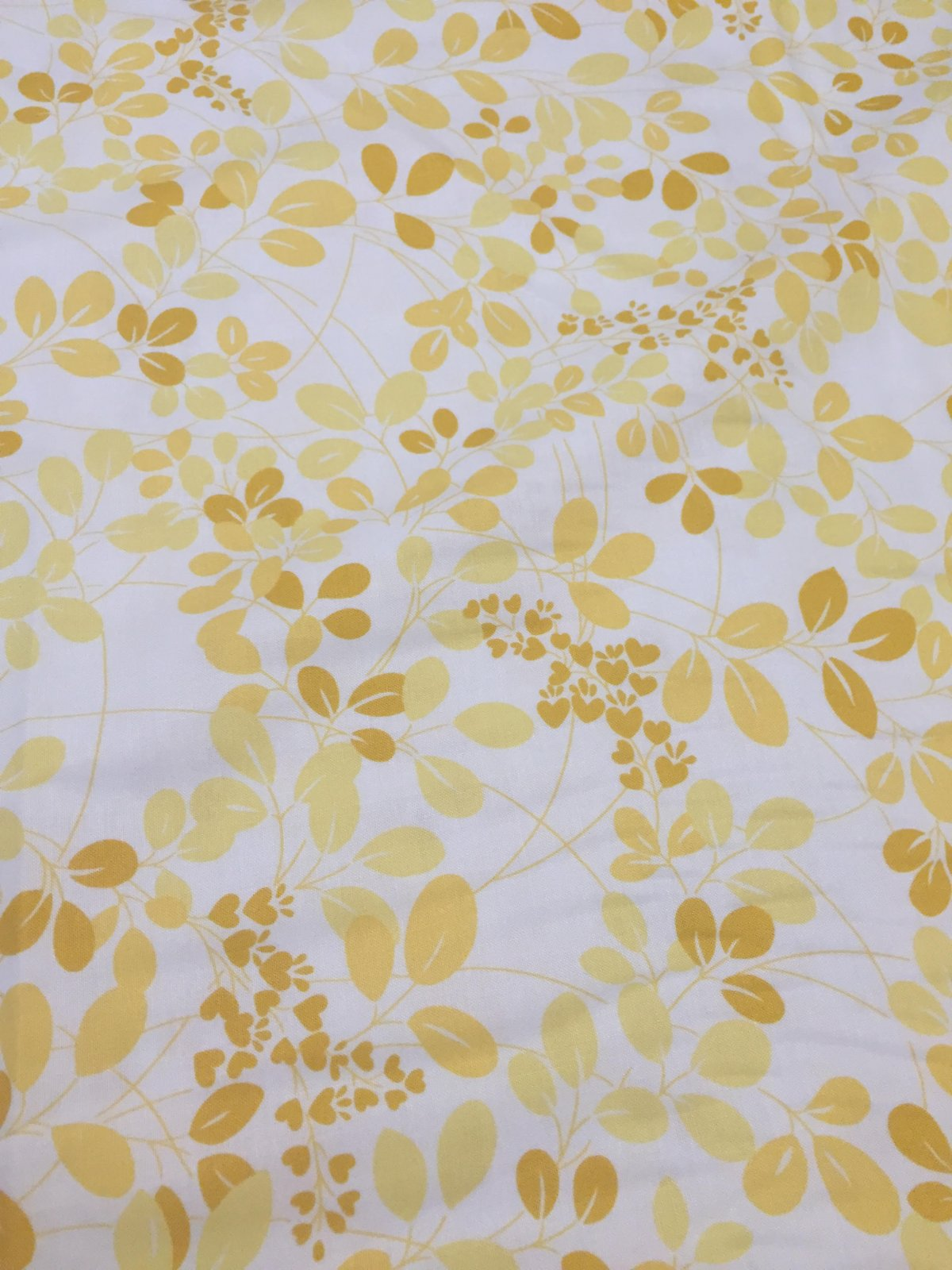 Moda - Simply Colorful V and Co. 10840 23 yellow / white leafs