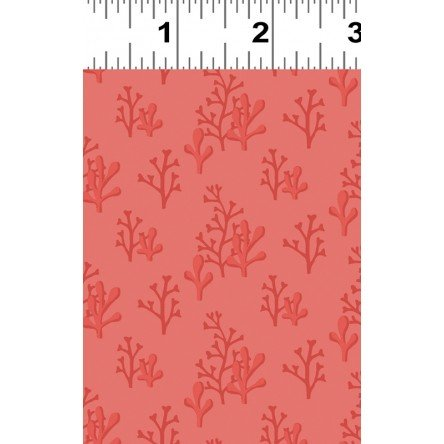 Clothworks Fabrics Sail Away - Y2152-40 Dark Coral