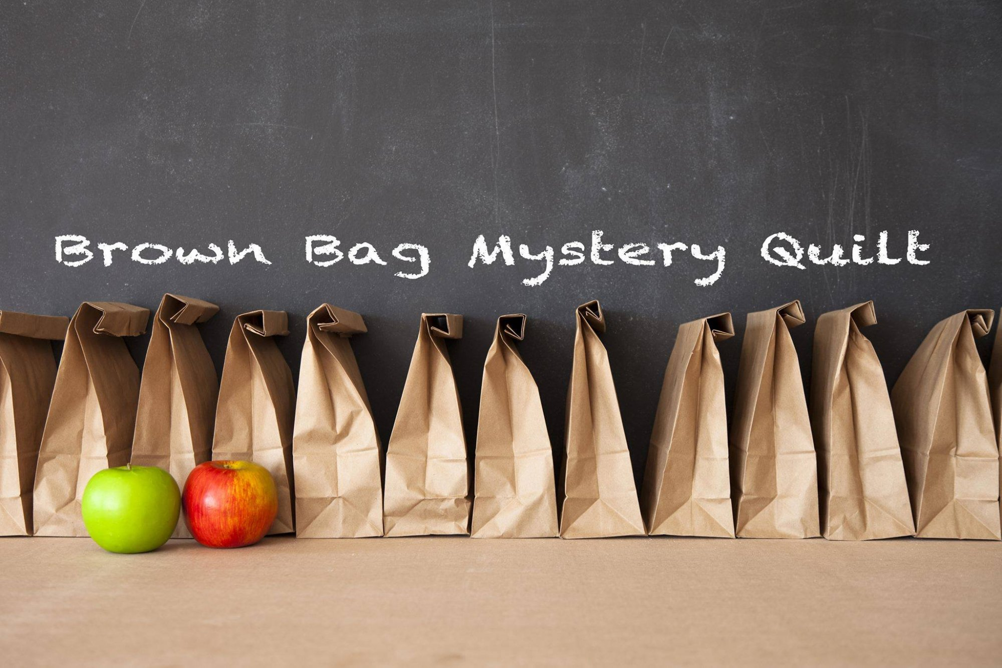 Brown Bag Mystery Quilt 2019