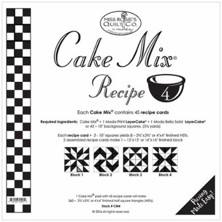Cake Mix Recipe #4 Miss Rosie's Quilt