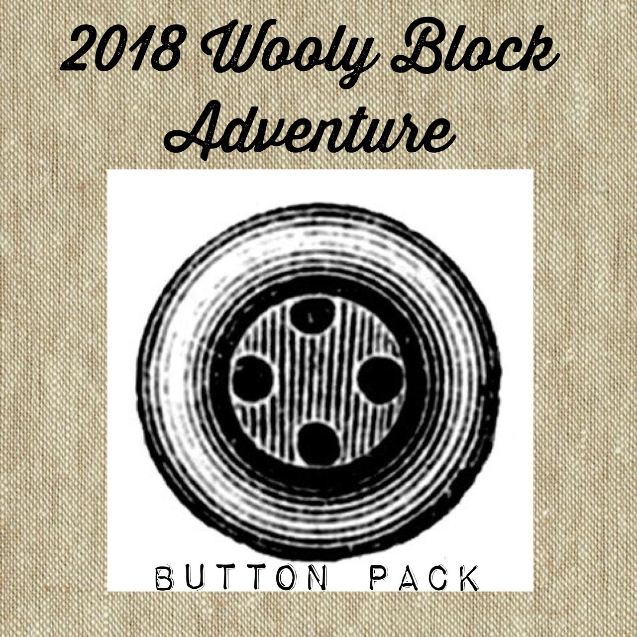 2018 Wooly Block Adventure Button Pack