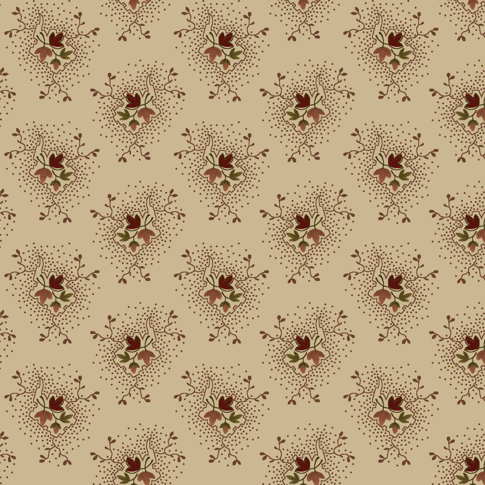 Buttermilk Blossoms  - 2107-46 * 1/2 yard