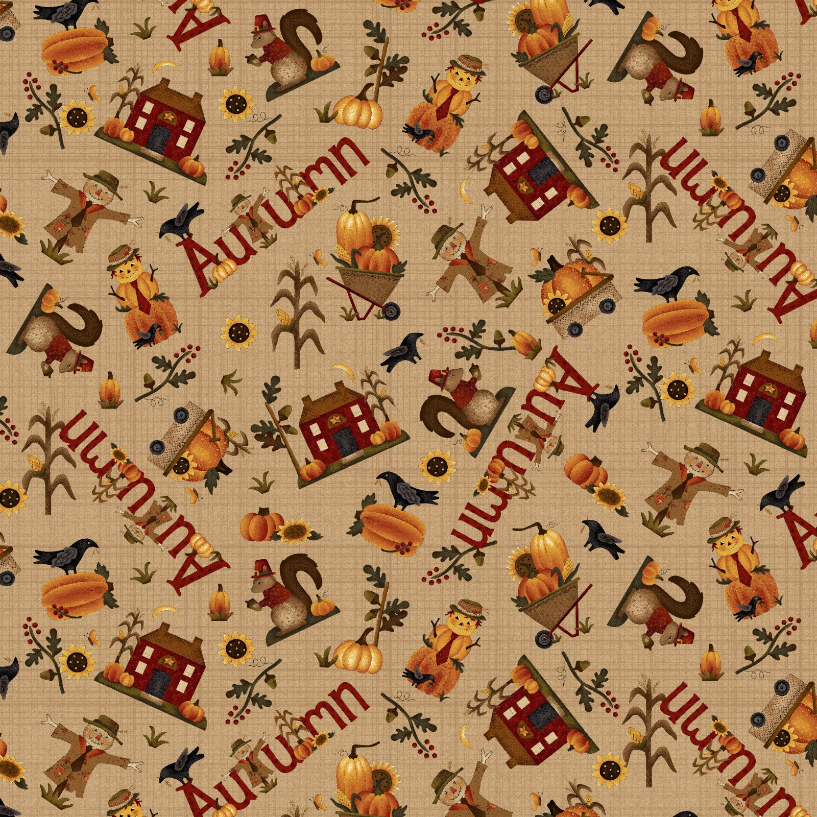 Buttermilk Autumn - 2273-34 * 1/2 yard
