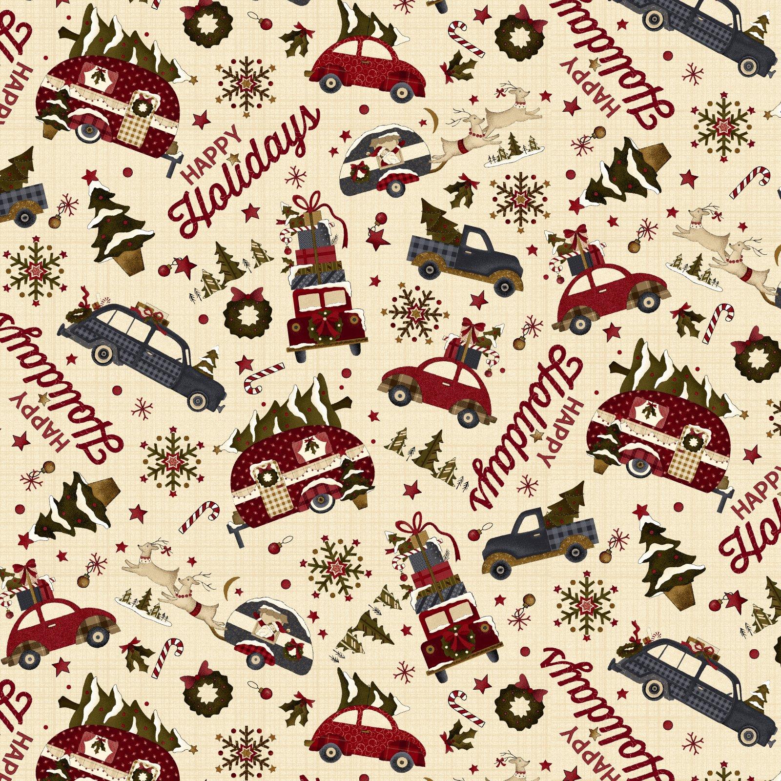 Buttermilk Winter - 2283-33 * 1/2 yard
