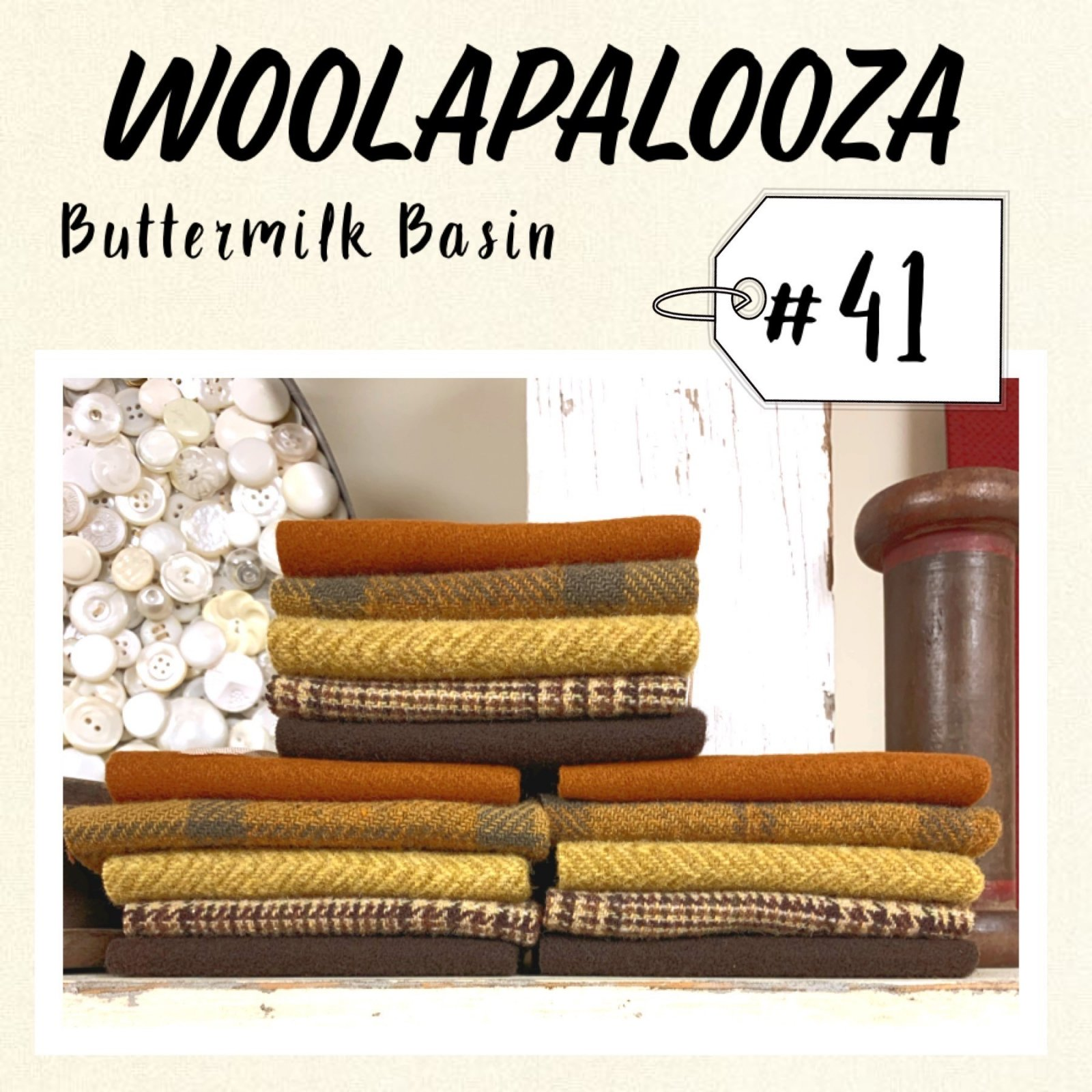 Woolapalooza #41 Wool Bundle