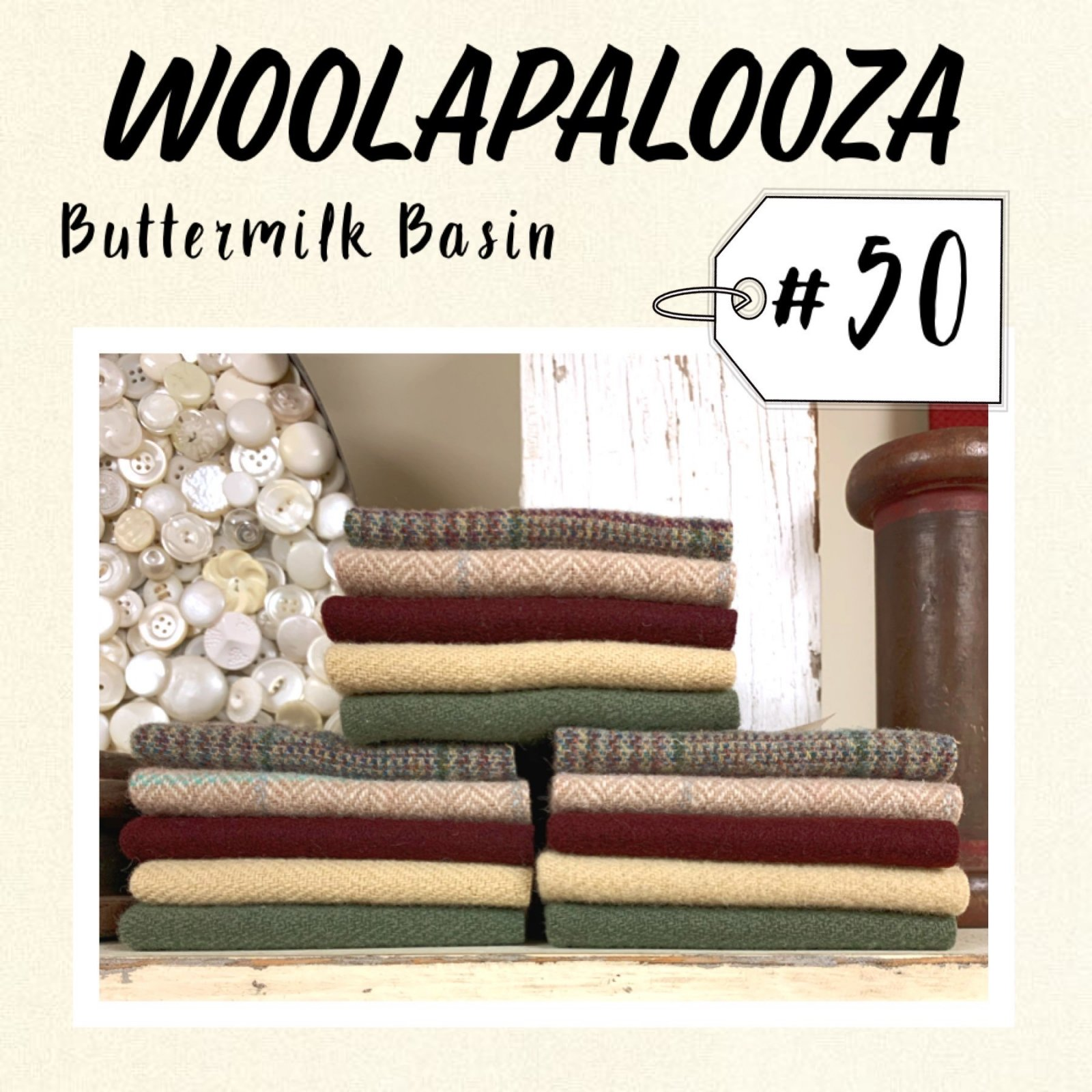 Woolapalooza #50 Wool Bundle