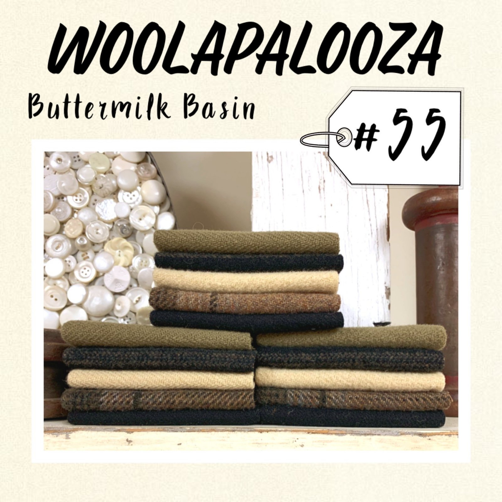 Woolapalooza #55 Wool Bundle
